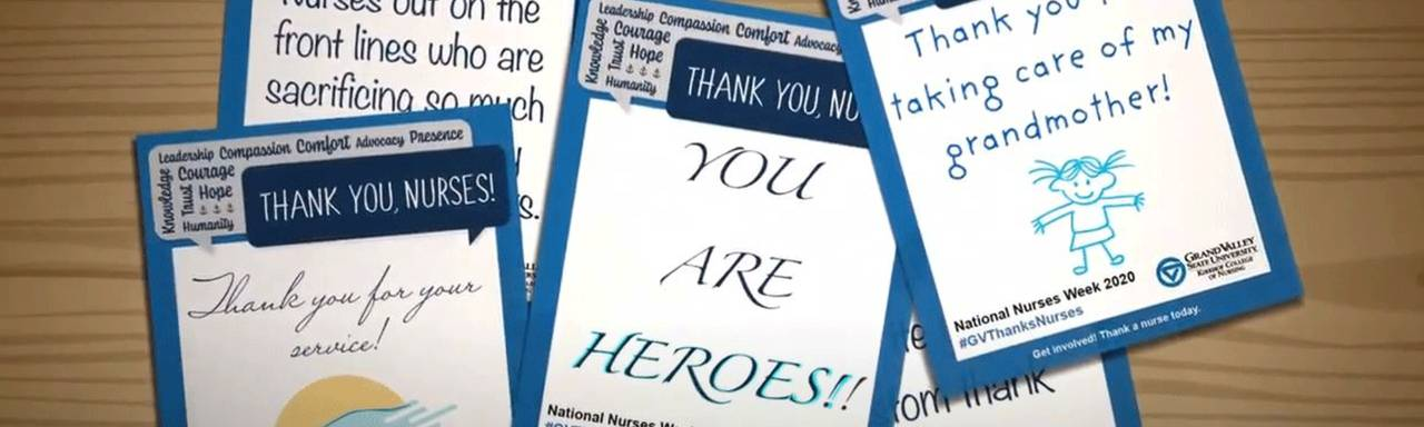 Image of Nurses Week Thank You Cards